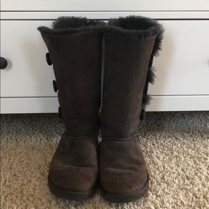 Ugg Tall Bailey Button Triplet